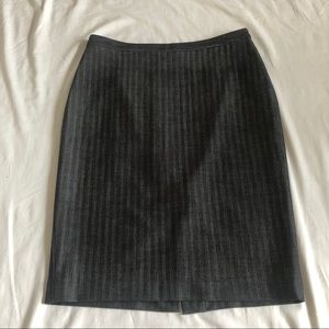 {Michael Kors} Classic Striped Pencil Skirt